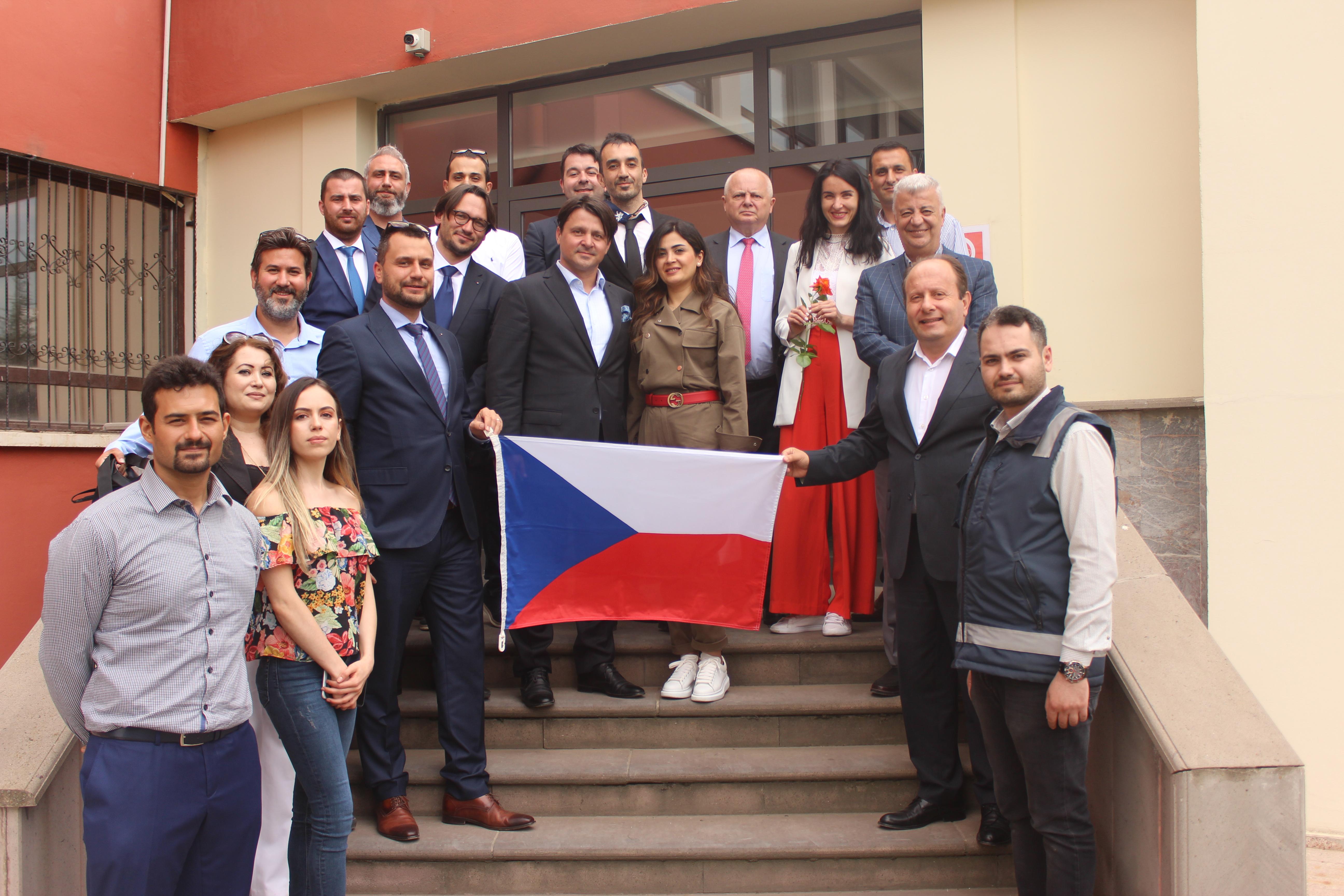 Çek Cumhuriyeti Büyükelçiliği Ticaret Müsteşarlığının Brt Grup Ziyareti